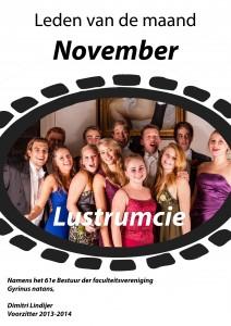 Lid van de maand november
