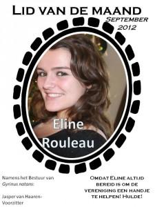 Lid van de maand - september Eline Rouleau